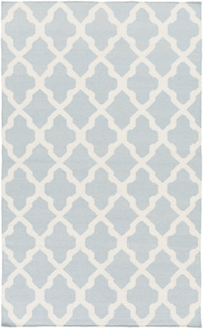 Artistic Weavers York Olivia Light Blue/Ivory Area Rug main image