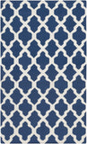 Artistic Weavers York Olivia Navy Blue/Ivory Area Rug main image