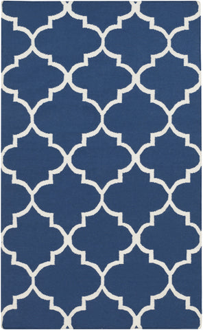 Artistic Weavers York Mallory Blue/Ivory Area Rug main image