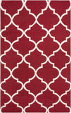 Artistic Weavers York Mallory Crimson Red/Ivory Area Rug main image