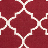 Artistic Weavers York Mallory Crimson Red/Ivory Area Rug Swatch
