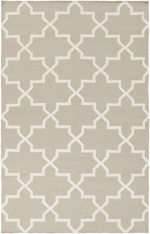 Artistic Weavers York Reagan Light Gray/Ivory Area Rug main image