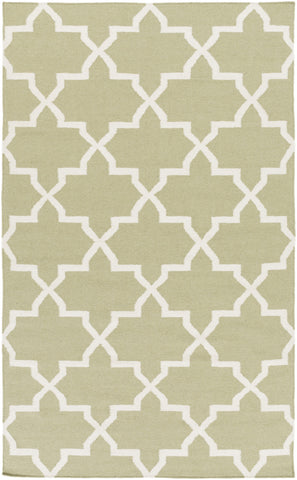 Artistic Weavers York Reagan Sage Green/Ivory Area Rug main image