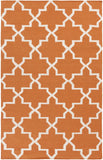 Artistic Weavers York Reagan Orange/Ivory Area Rug main image