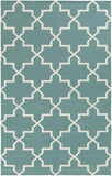 Artistic Weavers York Reagan Teal/Ivory Area Rug main image