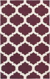 Artistic Weavers York Harlow Purple/Ivory Area Rug main image