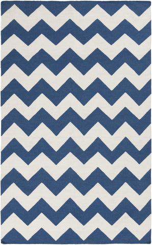 Artistic Weavers York Phoebe Blue/Ivory Area Rug main image