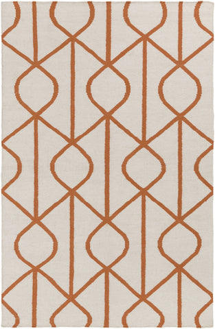 Artistic Weavers York Ellie Dark Orange/Ivory Area Rug main image