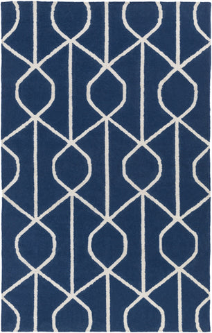 Artistic Weavers York Ellie Navy Blue/Ivory Area Rug main image