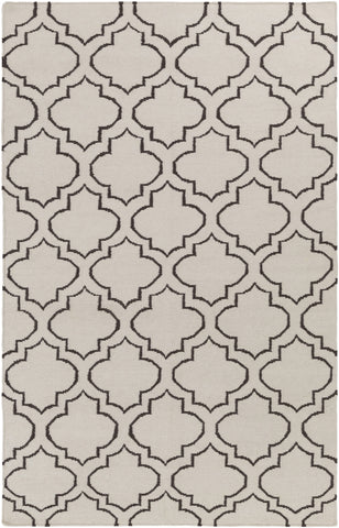 Artistic Weavers York Sara Ivory/Chocolate Brown Area Rug main image