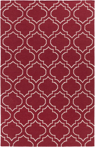 Artistic Weavers York Sara Crimson Red/Ivory Area Rug main image