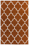 Artistic Weavers Transit Piper Dark Orange/Ivory Area Rug main image