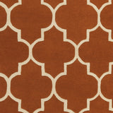 Artistic Weavers Transit Piper Dark Orange/Ivory Area Rug Swatch