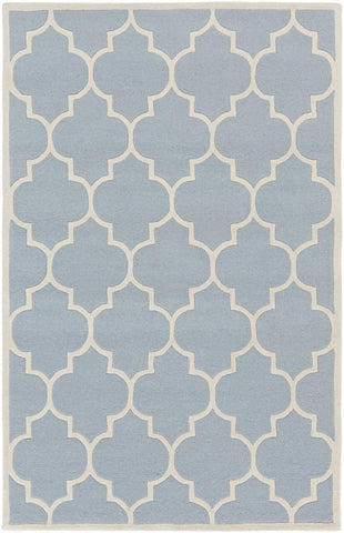 Artistic Weavers Transit Piper Light Blue/Ivory Area Rug main image