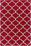 Artistic Weavers Holden Finley Crimson Red/Ivory Area Rug main image