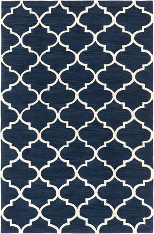 Artistic Weavers Holden Finley Navy Blue/Ivory Area Rug main image
