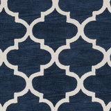 Artistic Weavers Holden Finley Navy Blue/Ivory Area Rug Swatch