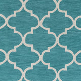 Artistic Weavers Holden Finley Turquoise/Ivory Area Rug Swatch
