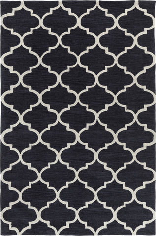 Artistic Weavers Holden Finley Onyx Black/Ivory Area Rug main image