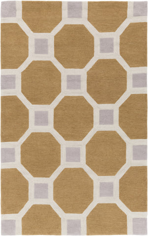Artistic Weavers Holden Lennon Tan/Light Gray Area Rug main image