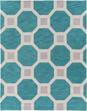 Artistic Weavers Holden Lennon Turquoise/Light Gray Area Rug Main