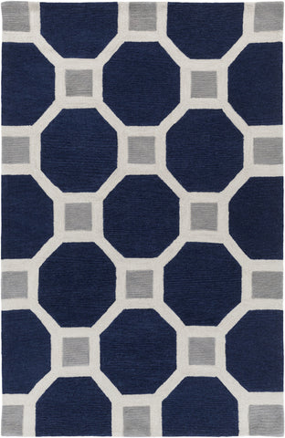 Artistic Weavers Holden Lennon Navy Blue/Gray Area Rug main image