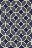Artistic Weavers Holden Mackenzie Navy Blue/Charcoal Area Rug main image