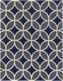 Artistic Weavers Holden Mackenzie Navy Blue/Charcoal Area Rug Main