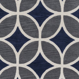 Artistic Weavers Holden Mackenzie Navy Blue/Charcoal Area Rug Swatch
