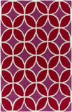 Artistic Weavers Holden Mackenzie Crimson Red/Raspberry Area Rug main image