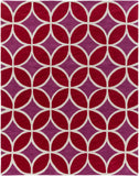 Artistic Weavers Holden Mackenzie Crimson Red/Raspberry Area Rug Main