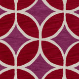 Artistic Weavers Holden Mackenzie Crimson Red/Raspberry Area Rug Swatch