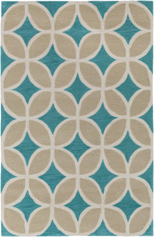 Artistic Weavers Holden Mackenzie Turquoise/Sage Green Area Rug main image