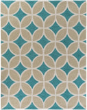 Artistic Weavers Holden Mackenzie Turquoise/Sage Green Area Rug Main
