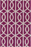Artistic Weavers Holden Zoe Raspberry/Ivory Area Rug main image