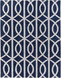 Artistic Weavers Holden Zoe Navy Blue/Light Gray Area Rug Main