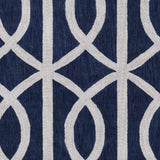 Artistic Weavers Holden Zoe Navy Blue/Light Gray Area Rug Swatch
