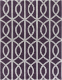 Artistic Weavers Holden Zoe Plum/Light Gray Area Rug Main
