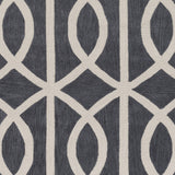 Artistic Weavers Holden Zoe Charcoal/Ivory Area Rug Swatch