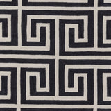 Artistic Weavers Holden Kennedy Onyx Black/Beige Area Rug Swatch