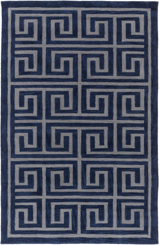 Artistic Weavers Holden Kennedy Navy Blue/Gray Area Rug main image