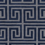 Artistic Weavers Holden Kennedy Navy Blue/Gray Area Rug Swatch