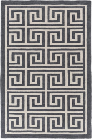 Artistic Weavers Holden Kennedy Charcoal/Ivory Area Rug main image