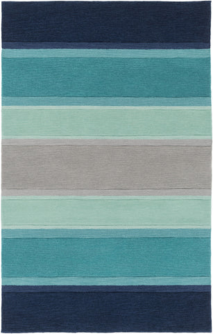 Artistic Weavers Holden Olive Turquoise/Navy Blue Area Rug main image