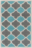 Artistic Weavers Holden Maisie Turquoise/Charcoal Area Rug main image