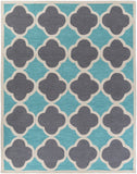 Artistic Weavers Holden Maisie Turquoise/Charcoal Area Rug Main