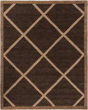 Artistic Weavers Holden Layla Chocolate Brown/Nutmeg Area Rug Main
