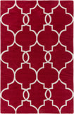 Artistic Weavers Holden Mattie Poppy Red/Ivory Area Rug main image