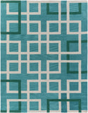 Artistic Weavers Holden Mila Turquoise/Kelly Green Area Rug Main
