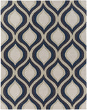 Artistic Weavers Holden Lucy Navy Blue/Charcoal Area Rug Main